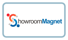 Showroom Magnet Logo