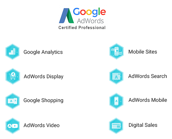 Google Adwords Certification - Arnold Tijerina
